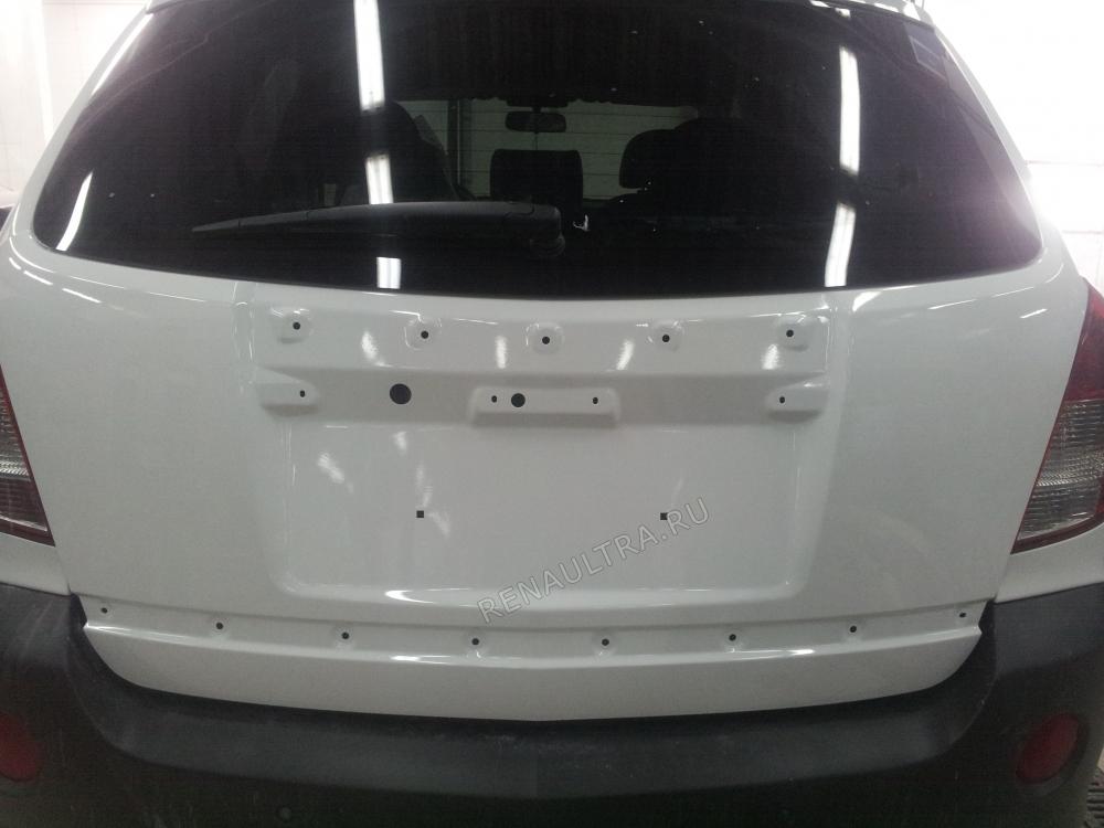 Opel Antara 2013 г. / Покраска крышки багажника / СТО Р-Кузов / ремонт