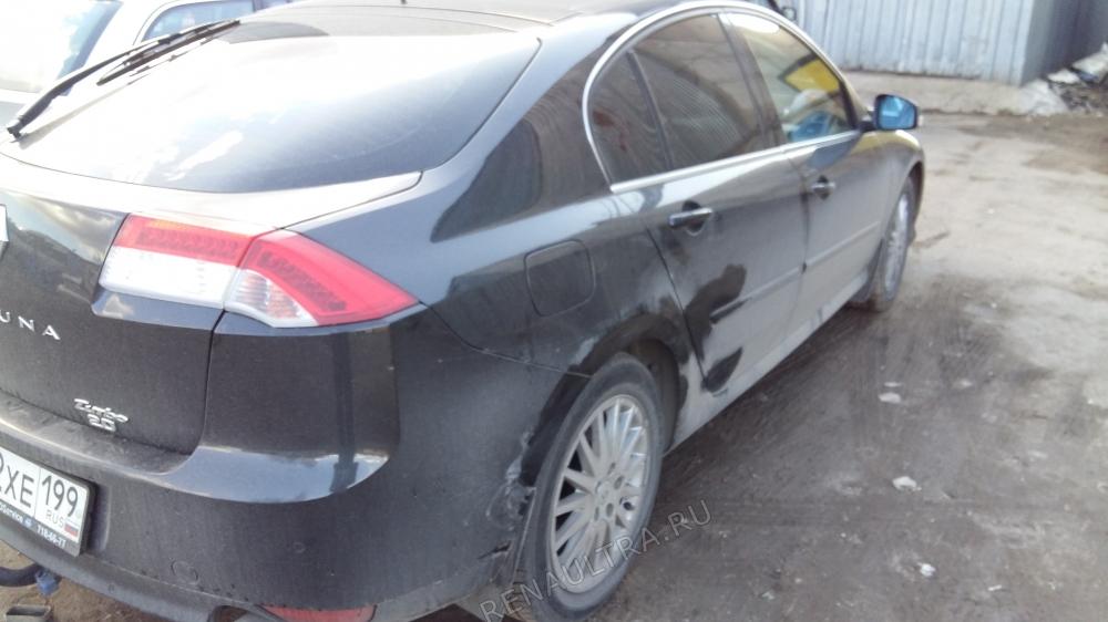 Смотреть подробности о ремонте Renault Laguna III Покраска заднего крыла, задней двери, заднего бампера.
